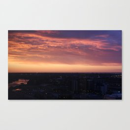 Calgary Sunrise Canvas Print