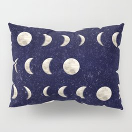 Moon Phase - Galaxy Pillow Sham