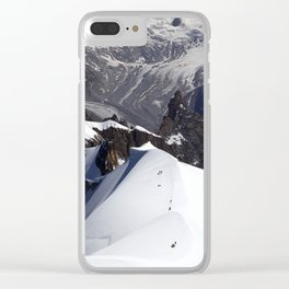 Team of mountaineers Clear iPhone Case