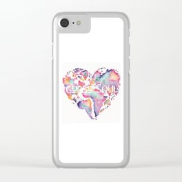 Gypsy Soul Clear iPhone Case