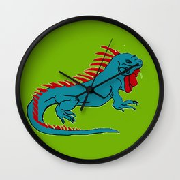 The Phenomenal Iguana Wall Clock