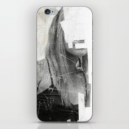 Faceless | number 03 iPhone & iPod Skin