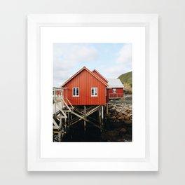 Home Sweet Home / Norway Framed Art Print