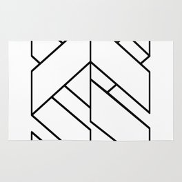 Enigmatic-Lines-(On-Light) Rug