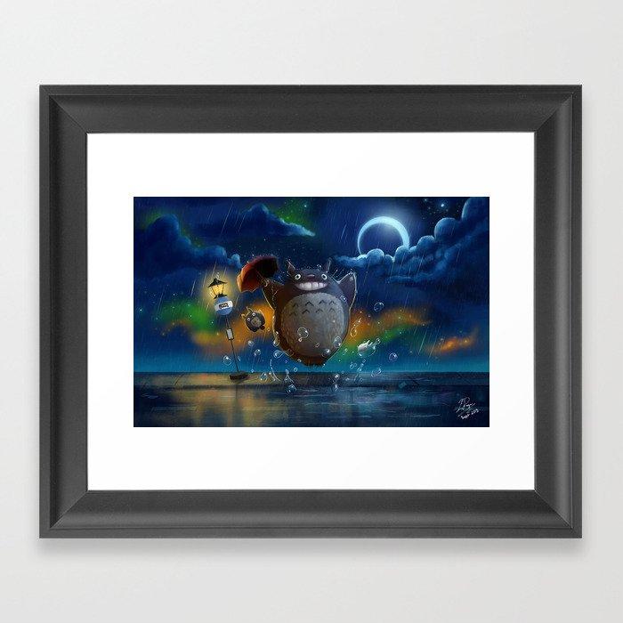 Studio Ghibli: My Neighbour Totoros Gerahmter Kunstdruck