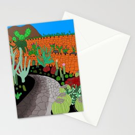The Cactus Garden, Lanzarote, Canary Islands, Spain Stationery Cards