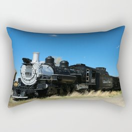 Denver & Rio Grande Steam Engine Rectangular Pillow