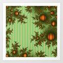 Vintage Christmas fractal by nataliyabykova