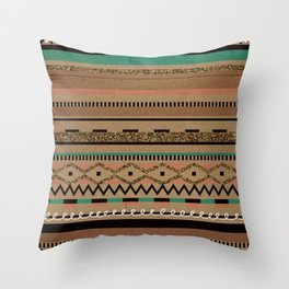 Tribal Flirt Throw Pillow