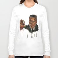 christopher walken Long Sleeve T-shirts featuring Christopher Walken as Captain Koons by rusto