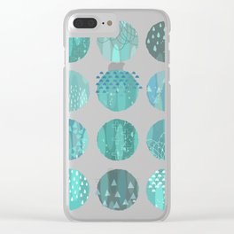 CELESTIAL BODIES - MIDNIGHT Clear iPhone Case