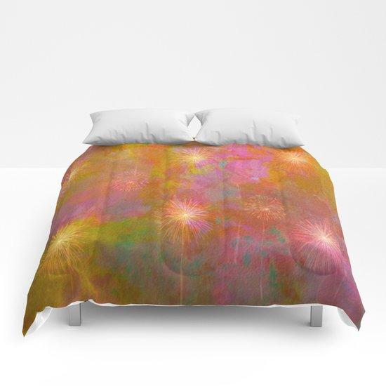 Starburst Abstract Comforters
