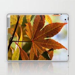 Japanese Maple Leaf Laptop & iPad Skin