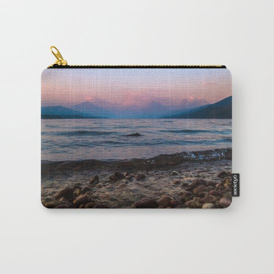 Lake At Dusk Carry-All Pouch