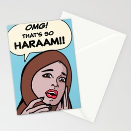 SO HARAM Stationery Cards