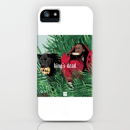 King's dead iPhone Case