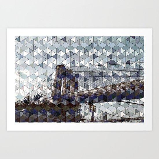 bridge of dreams Art Print