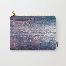 Tokyo city glitch art Carry-All Pouch