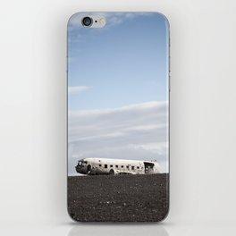 Iceland Plane Wreckage iPhone Skin