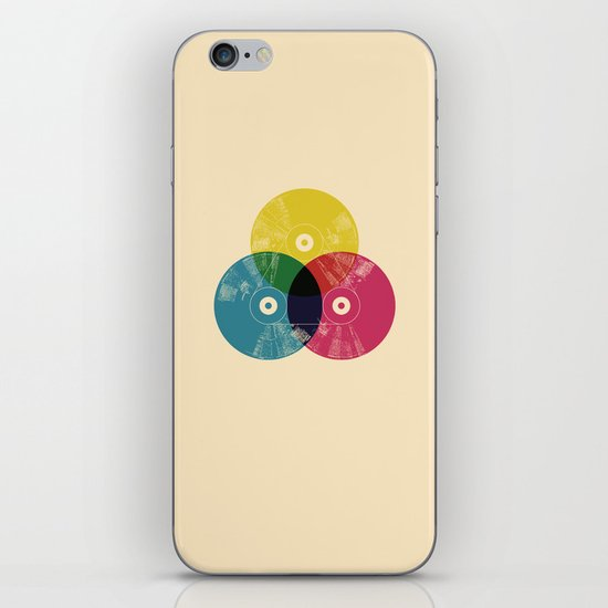 Music is the colors of life iPhone & iPod Skin
