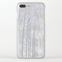 Bamboo XIV Clear iPhone Case