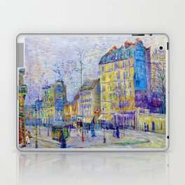 Vincent van Gogh Boulevard de Clichy Laptop & iPad Skin