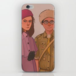 Sam and Suzy (Moonrise Kingdom by Wes Anderson) iPhone Skin