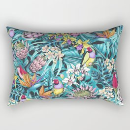 Stand out! (fresh aqua) Rectangular Pillow