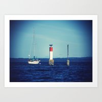 Chemainus Art Print