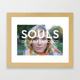 Souls of San Francisco Framed Art Print