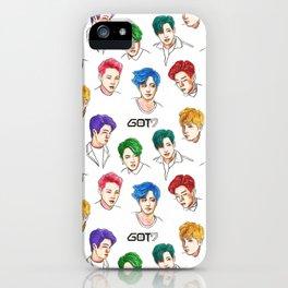 GOT7 Colourful iPhone Case
