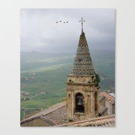 steeple of gangi Canvas Print