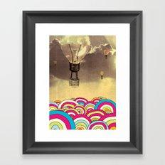 The Bubble Framed Art Print