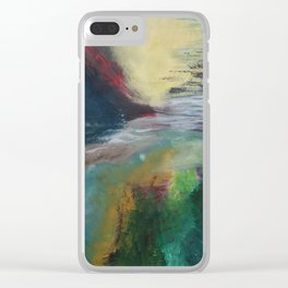 Traum Land Clear iPhone Case