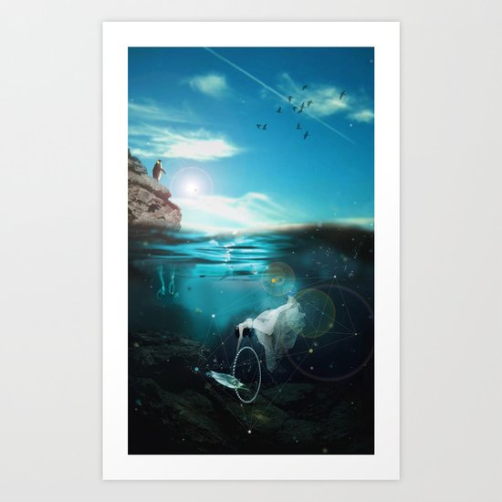 DREAMY PLAYGROUND Art Print