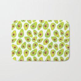 Watercolour Avocados Bath Mat