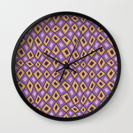 Diamonds Are Forever-Sunset Colors Wall Clock
