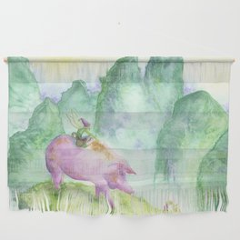 Year of the Pig Wall Hanging