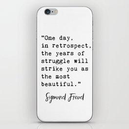 Sigmund Freud quote iPhone Skin