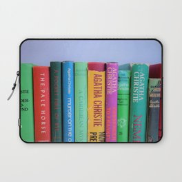 Row of Colorful Vintage Agatha's Laptop Sleeve