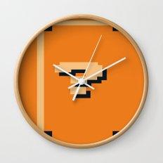 Minimalist Question Block Wall Clock