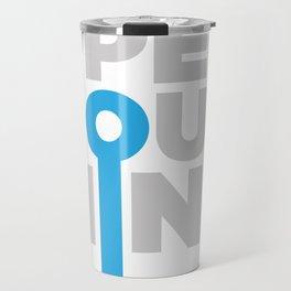 Open Your Mind Travel Mug