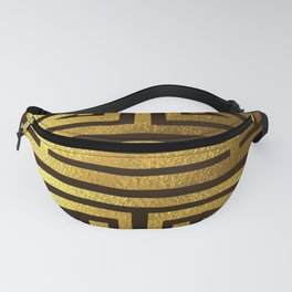 Four blessings Gold Fanny Pack