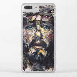 The Coronation of Thorns Clear iPhone Case