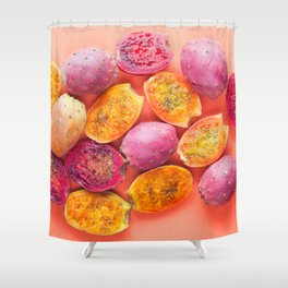 Indian figs Shower Curtain