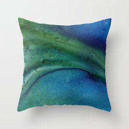 Relief Map 5 Throw Pillow