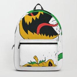 Pumkin Eating Ghosts Backpack