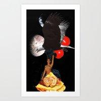 Eagle Diva Art Print