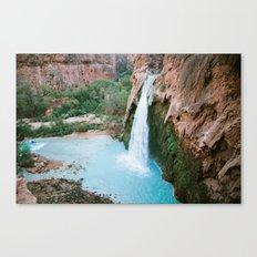 iconic havasupai falls Canvas Print