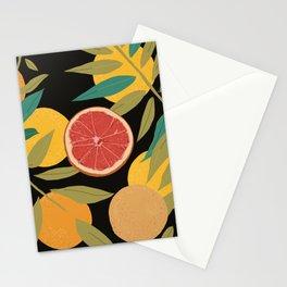 Black Grapefruit Stationery Cards